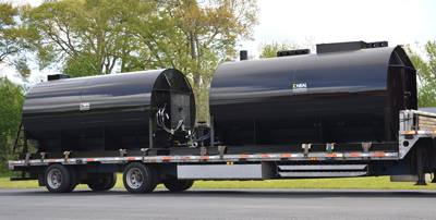 Asphalt Sealcoat Storage Tanks