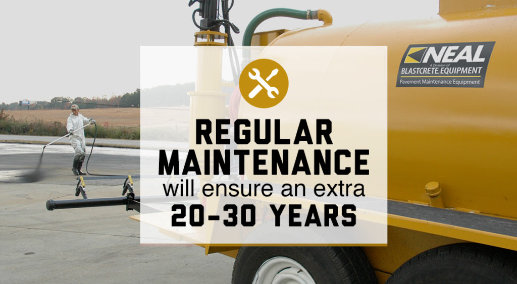 Sealcoat Equipment Regular Maintenance