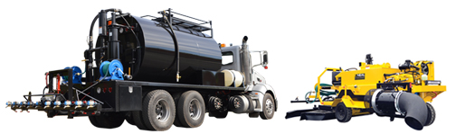 Asphalt Sealcoating Preservation Equipment Package