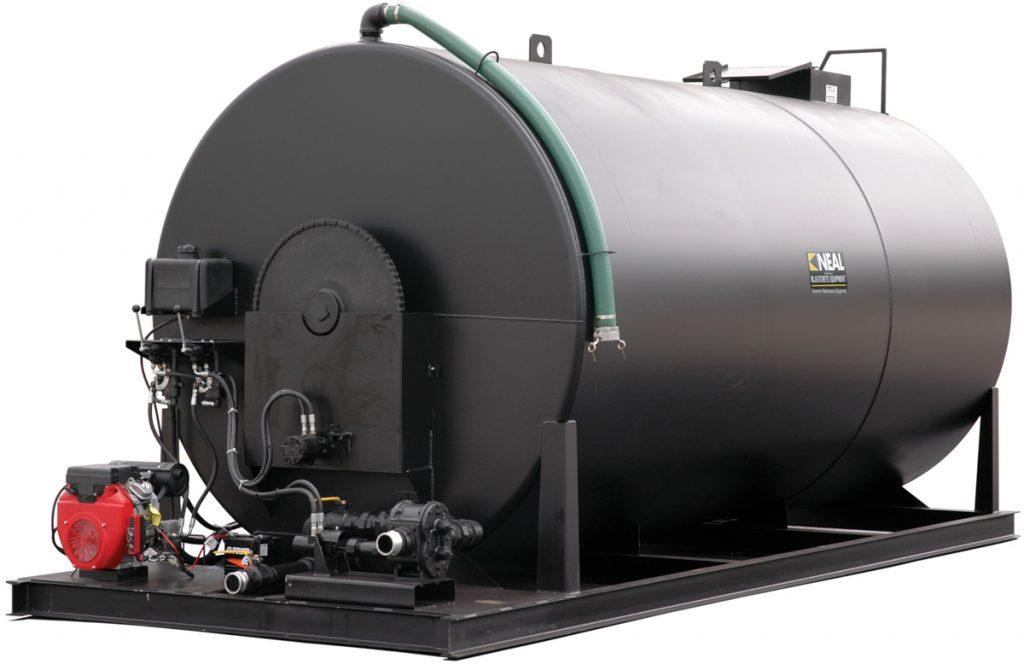 Asphalt emulsion storage tank